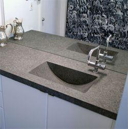 Concrete Bathroom Countertop Bing Images Concrete Countertops