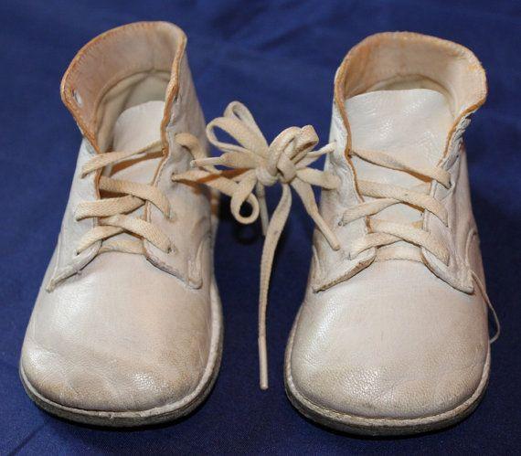 Vintage Baby Shoes Wee Walker Junior