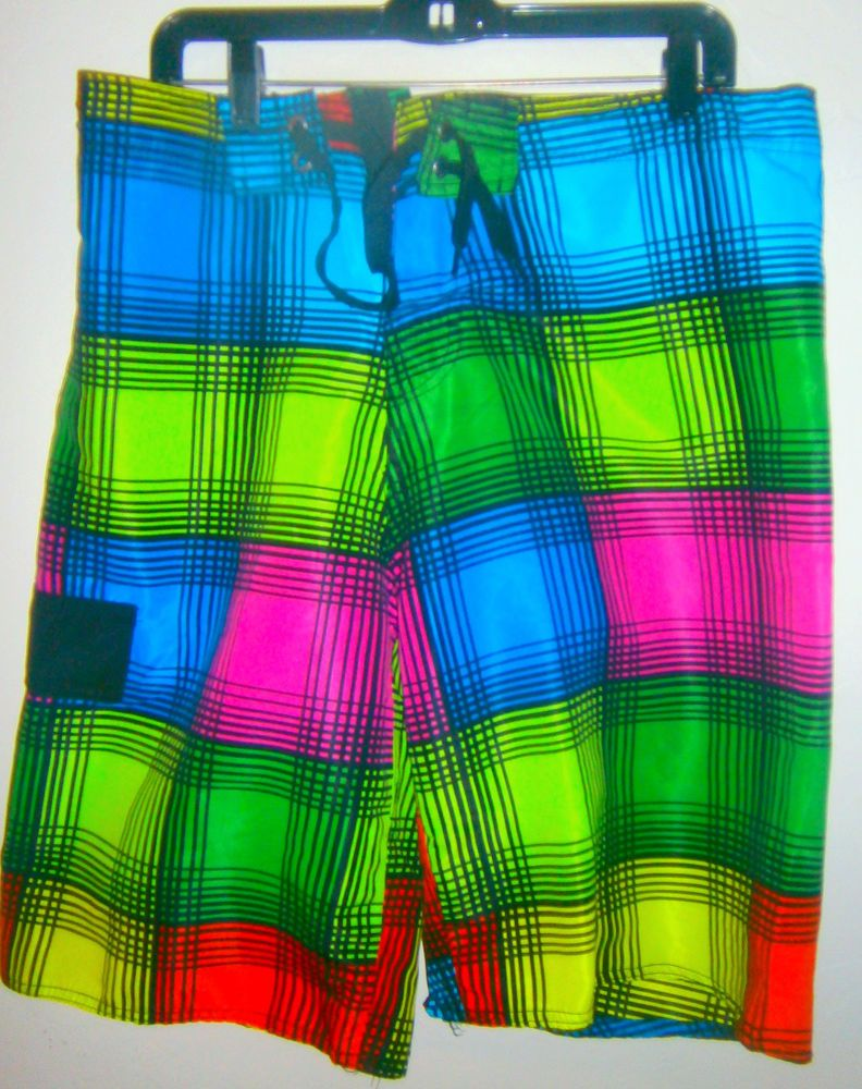 52eff49238 MENS B SPLIT SWIM BOARD SHORTS SIZE XL SWIM TRUNKS STRIPED FLORAL PRINT  #BSplit #Trunks