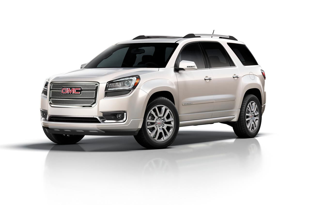 2013 Gmc Acadia Denali My Next Baby In Pearl White 3 Acadia
