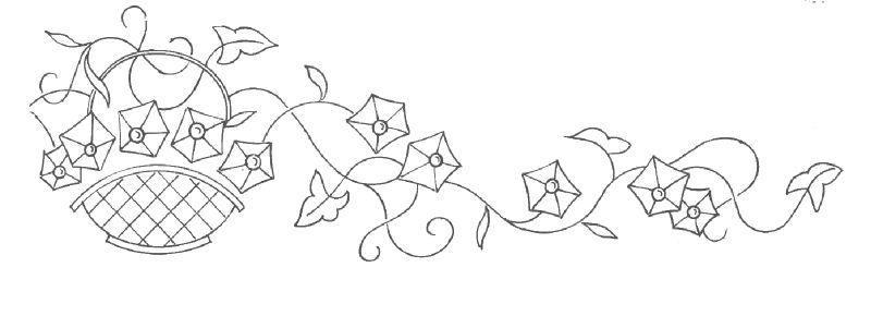 Patrones para bordados patrones para bordar tapetes y - Motivos navidenos para pintar en tela ...