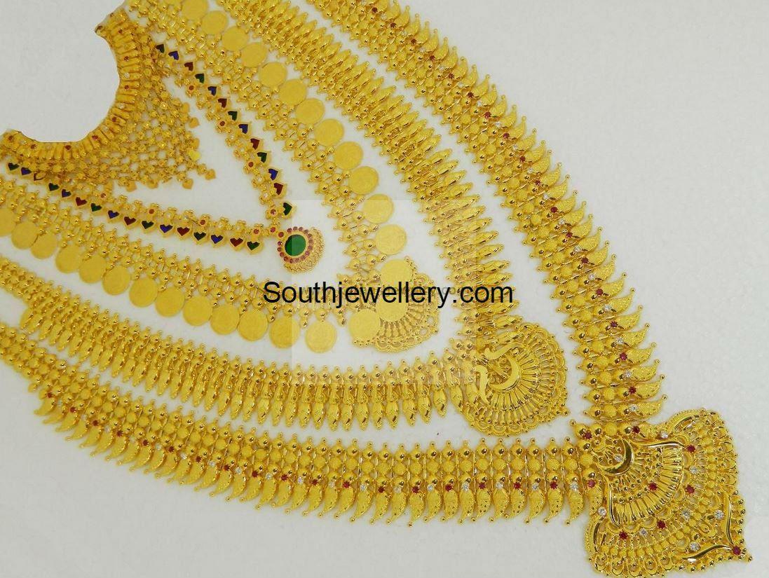 Kerala Bridal Jewellery Set Photo Bridal Jewelry Sets Bridal Gold Jewellery Gold Wedding Jewelry