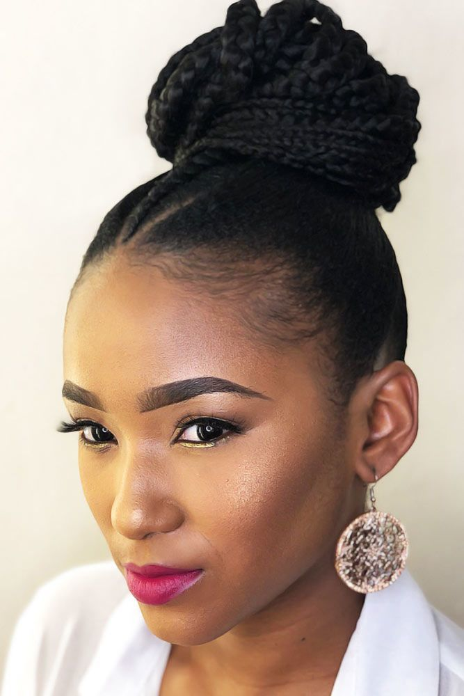 45 Enviable Ways To Rock The Latest Black Braided Hairstyles | Braids for black hair, Braided ...