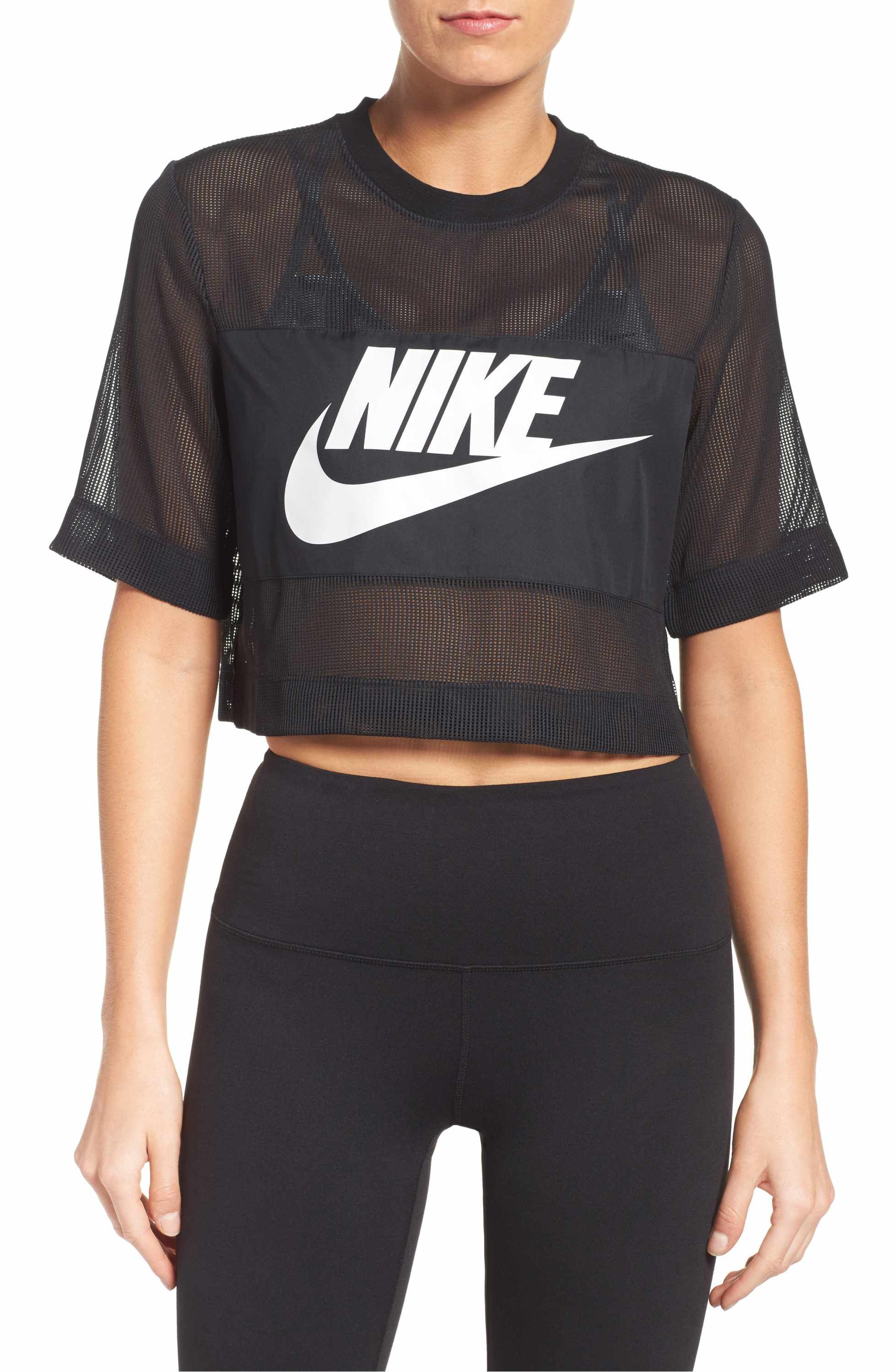 t shirt fitness donna nike