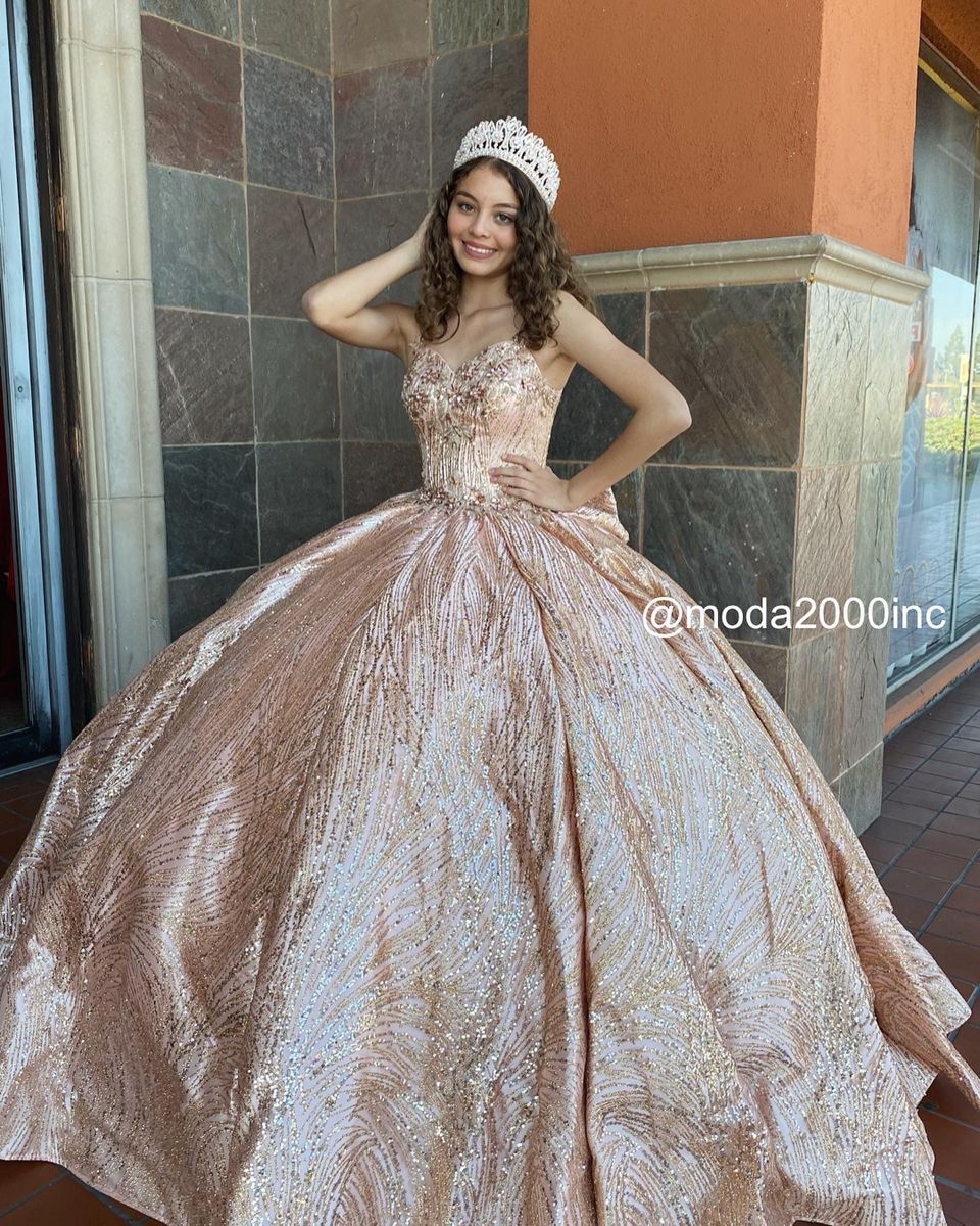 Glitz And Glam Themed Off The Shoulder Rose Gold Quinceanera Dress Quinceanera Dresses Gold Quinceanera Dresses Pretty Quinceanera Dresses [ 1200 x 960 Pixel ]