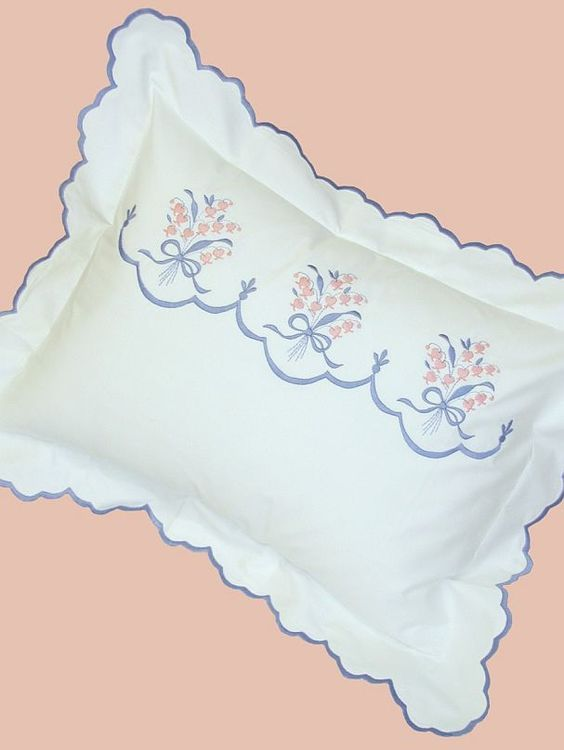 A Touch of Lace | Custom Bedding | Fine Linens | Embroidery | Luxury Linens