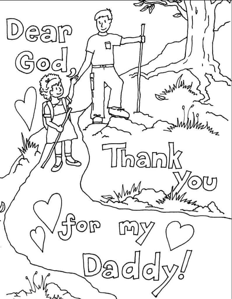 Thanksgiving Coloring Pages Sunday School Fathers Day Coloring Page Sunday School Coloring Pages Father S Day Printable