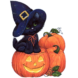 Cute Halloween Cat Clip Art Cute Halloween Cat Clipart
