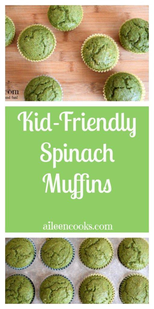 Kid-Friendly Spinach Muffins