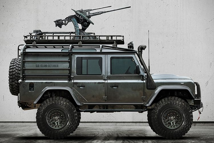 Hunting Your Prey With The Land Rover Defender 110 Predator Land
