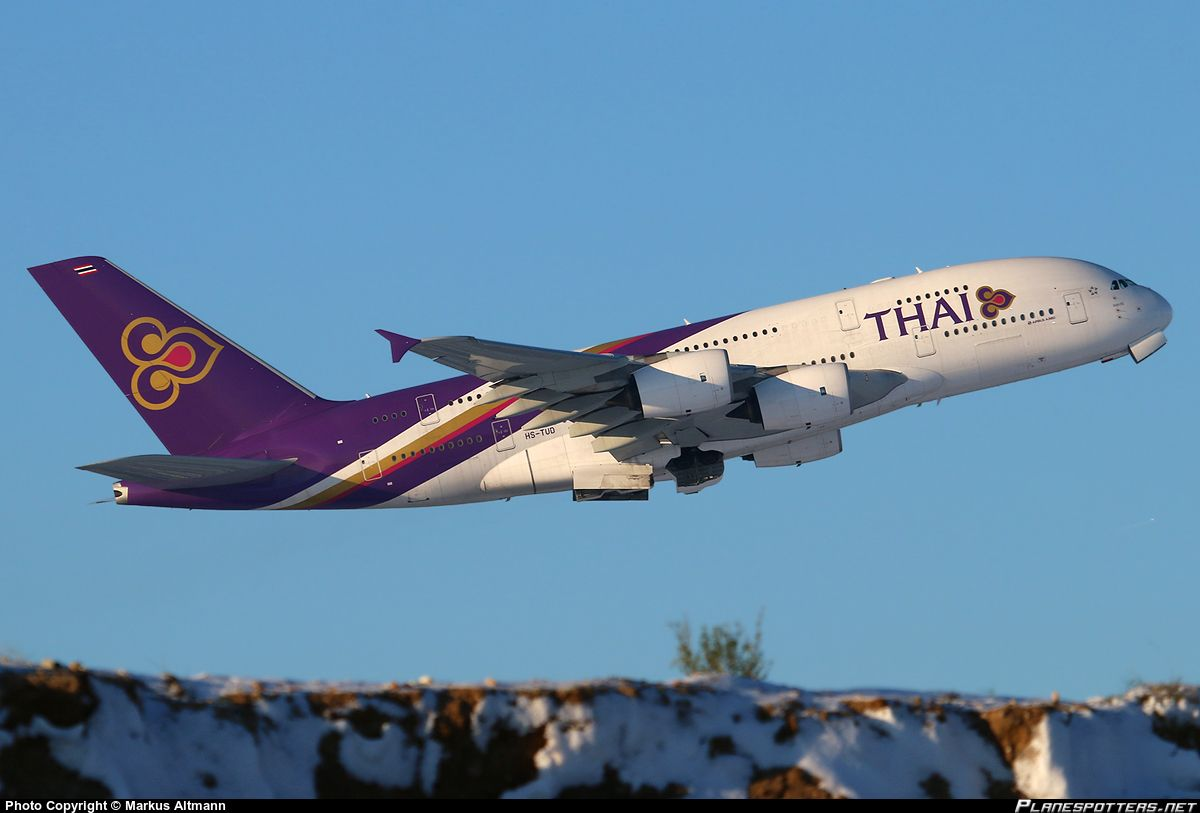 HS-TUD Thai Airways International Airbus A380-841