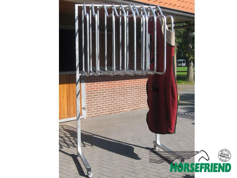 Rug Rack On Wheels Horse Trailers Training Farms Future
