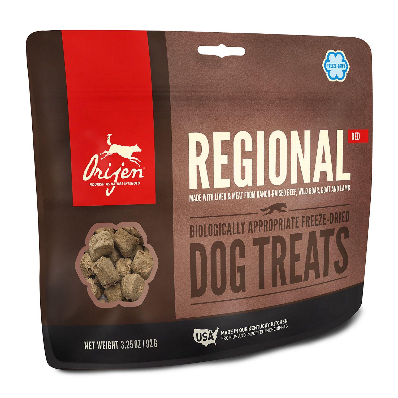 Orijen freezedried regional red dog treats 325 oz in