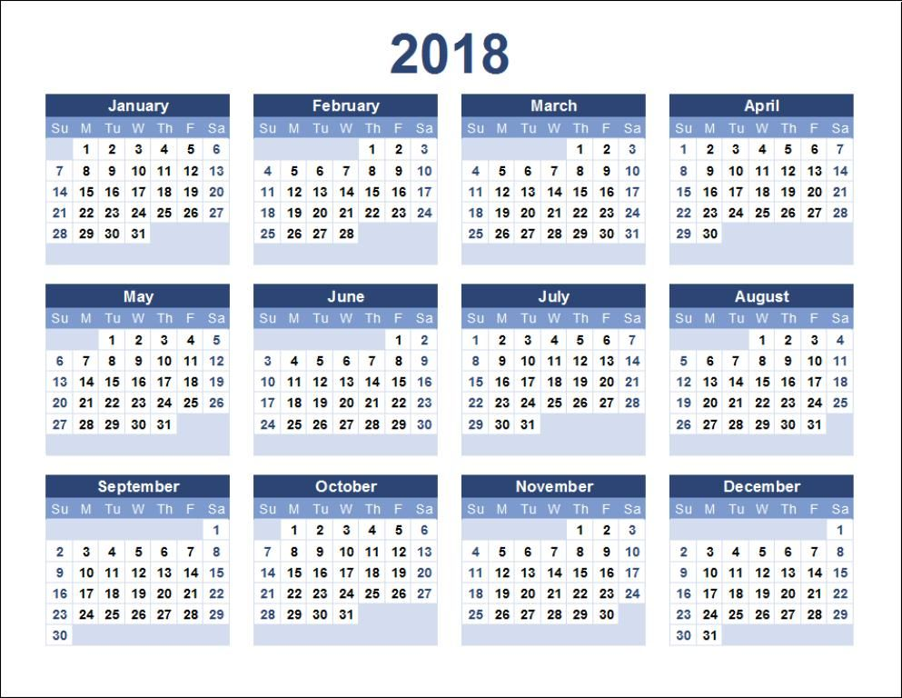 Calendar 2018 Printable Free Printable Calendar Pinterest