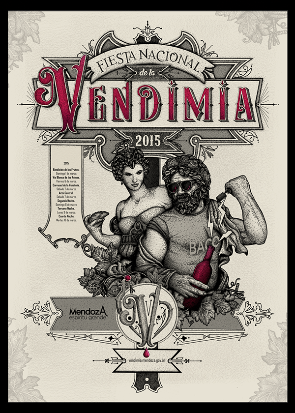 VENDIMIA on Behance