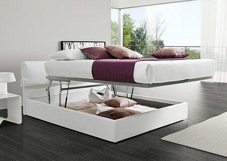 letto contenitore (altezza agevolata per rifare il letto!)