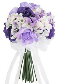 Lavender Rose Bouquet Wedding | Silk Wedding Flowers | Affordable Bridal Bouquets | Artificial Wedding Bouquets (3 Dozen Roses) #fantasticweddingbouquets
