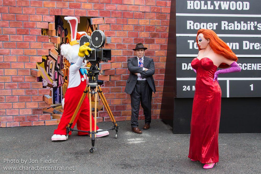 Roger Rabbit at Disney Character Central | Who framed roger rabbit ...
