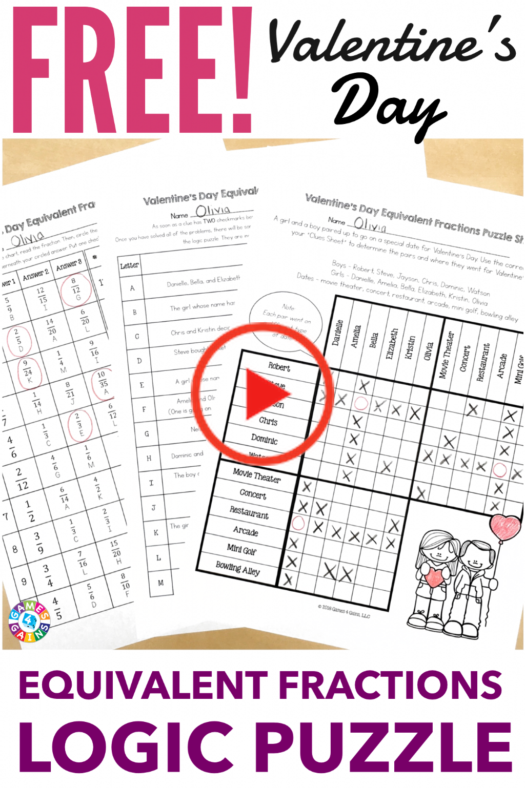 Pin On Logic Puzzles