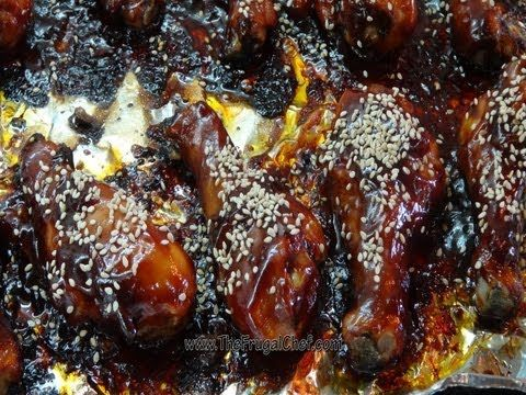 Chicken Leg Recipes - Sweet and Sour - The Frugal ChefThe Frugal Chef