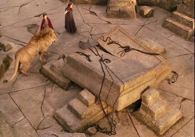 Happy Easter The Stone Table Is Broken And Aslan Is Alive