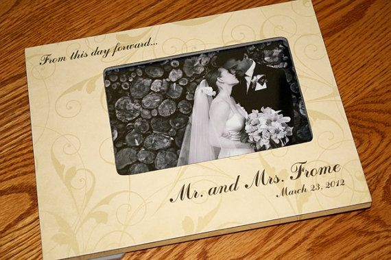 Personalized Wedding Gift Engagement Gift Wedding Date From This Day ...
