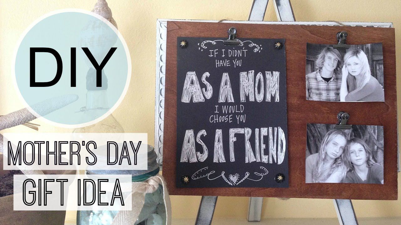 Mother S Day Gift Idea Photo Frame Michele Baratta Cool Diy