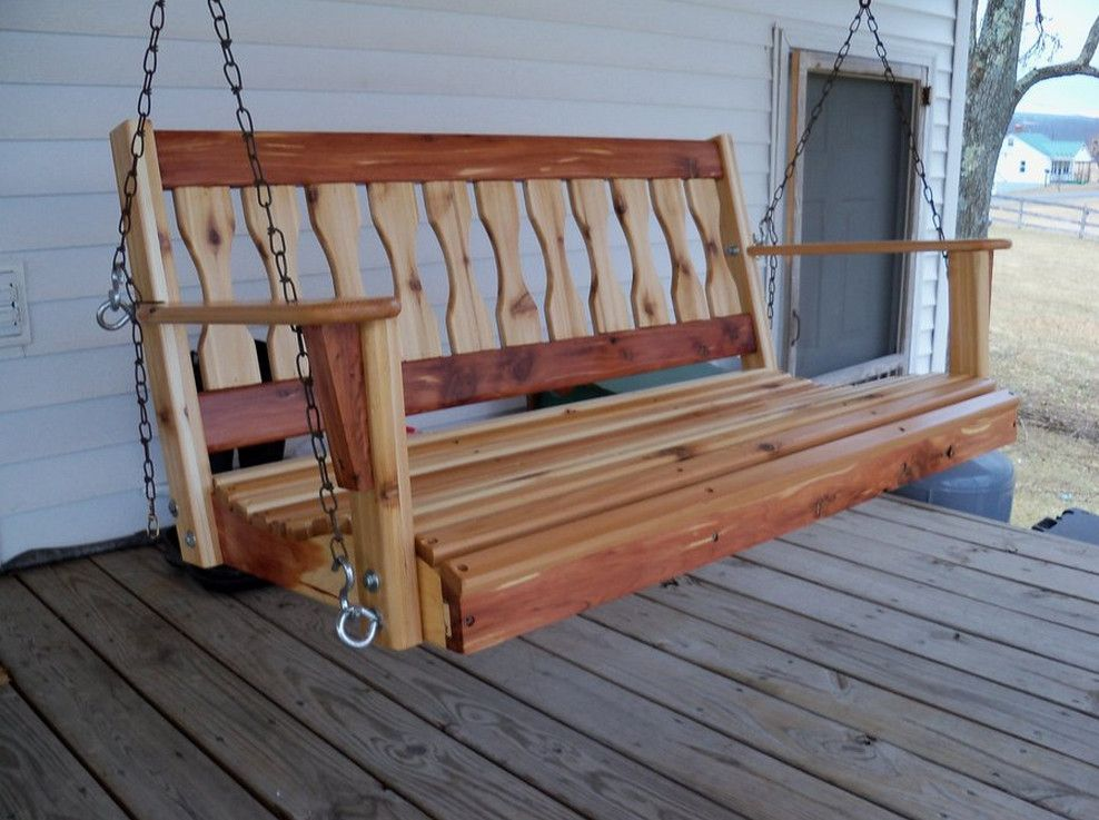 a frame porch swing - How To Find The Best Wooden Porch Swin