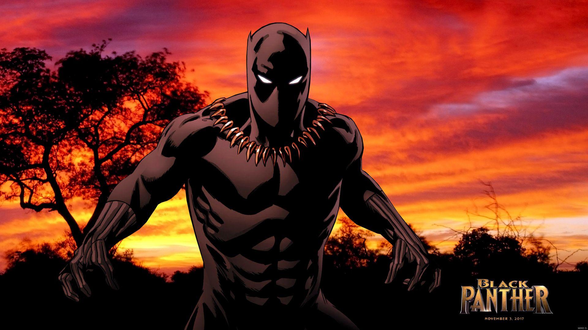 Black Panther by Xionice Black panther, Black panther hd
