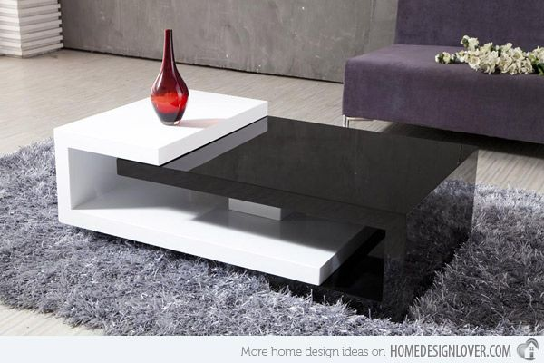 15 modern center tables made from wood center table for Center table design for sofa