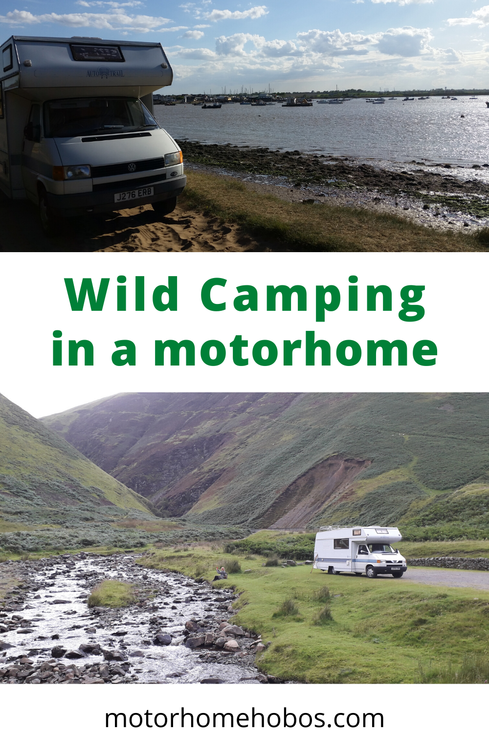 Wild Camping in a Motorhome - what you need to know ...