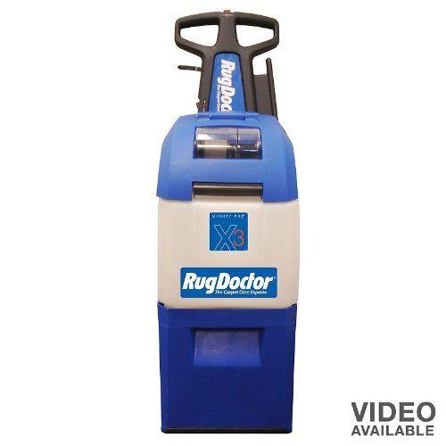 Get Offer Rug Doctor X3 Value Pack Commercial Grade Carpet Cleaner Vacuum Cleaner Rug Doctor Carpet Cleaning Recipes Carpet Cleaners