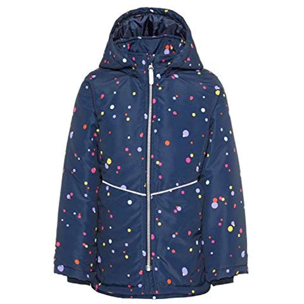Name It Girls Nkfmaxi Jacket Multi Dot