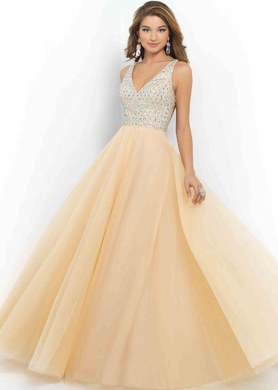Black A Line V Neck Open Back Satin Long Prom Dresses