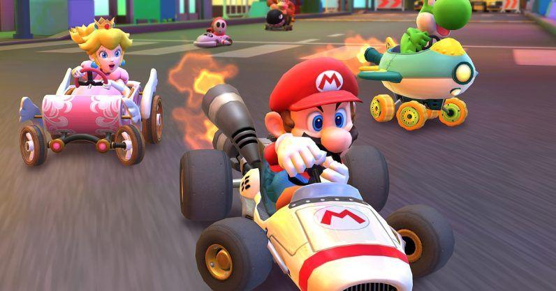 Mario Kart Tour Just Smoked Pokemon Go In Day One Downloads Video Game Development Racing Video Games Mario Kart