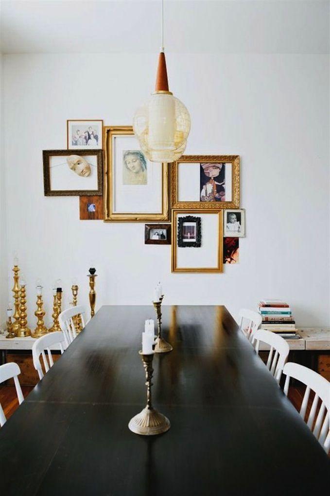frame-cluster | Walls I like | Pinterest | Walls, Vignette design ...