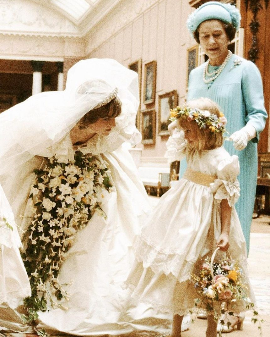 July 29, 1981 Princess Diana comforts her youngest
