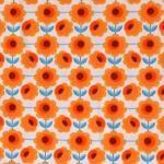 Co stoffen online | Nederlands Liefde Jersey Oranje | Kinderen materialen & Unieke - stoffen & Love