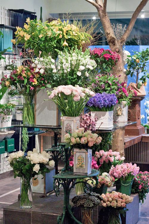 A visit to a beautiful Danish florist shop...Bering House of Flowers in Copenhagen