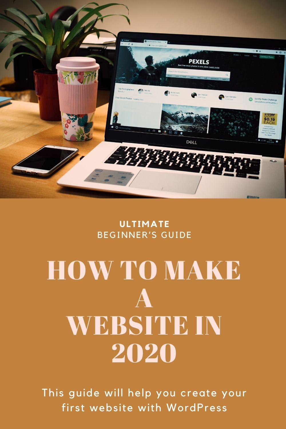 WordPress For Beginners Tutorial How To Guide in 2020