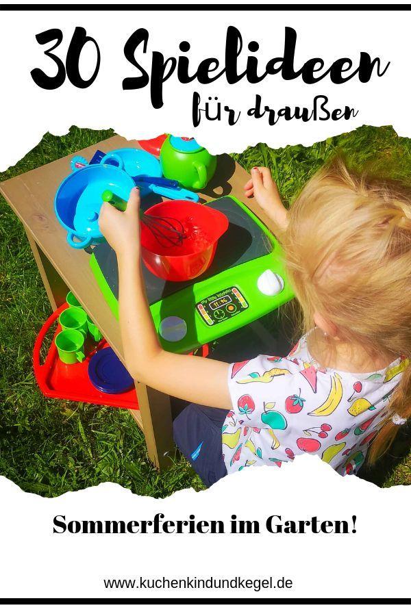 Spielideen für draußen 30 Ideen für den Urlaub im Garten