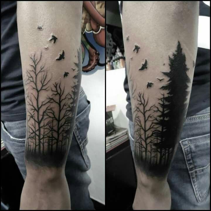 Pinos Tatuaje Tatuajes Pinterest Tattoos