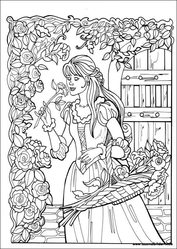 Princess Leonora malvorlagen | Bilder zum ausmalen | Pinterest ...