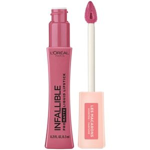 Photo of L'Oreal Paris Infallible Pro-Matte Les Macarons Scented Liquid Lipstick, Praline De Paris – 0.21 oz | CVS