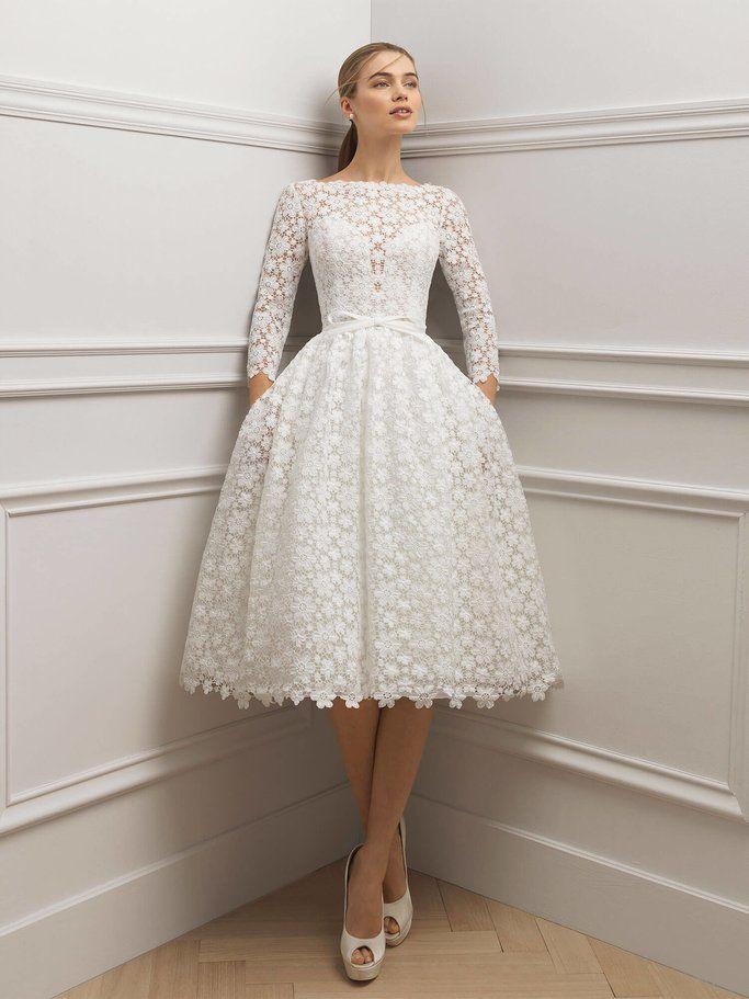 Standesamt Kleid: Inspirationen für das perfekte Brautkleid #zivilhochzeitskleider
