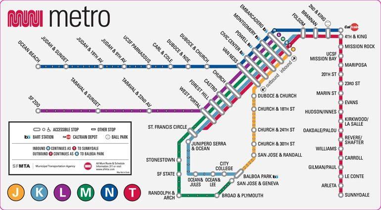 Muni Metro ~ San Francisco Municipal Transportation Agency (SFMTA