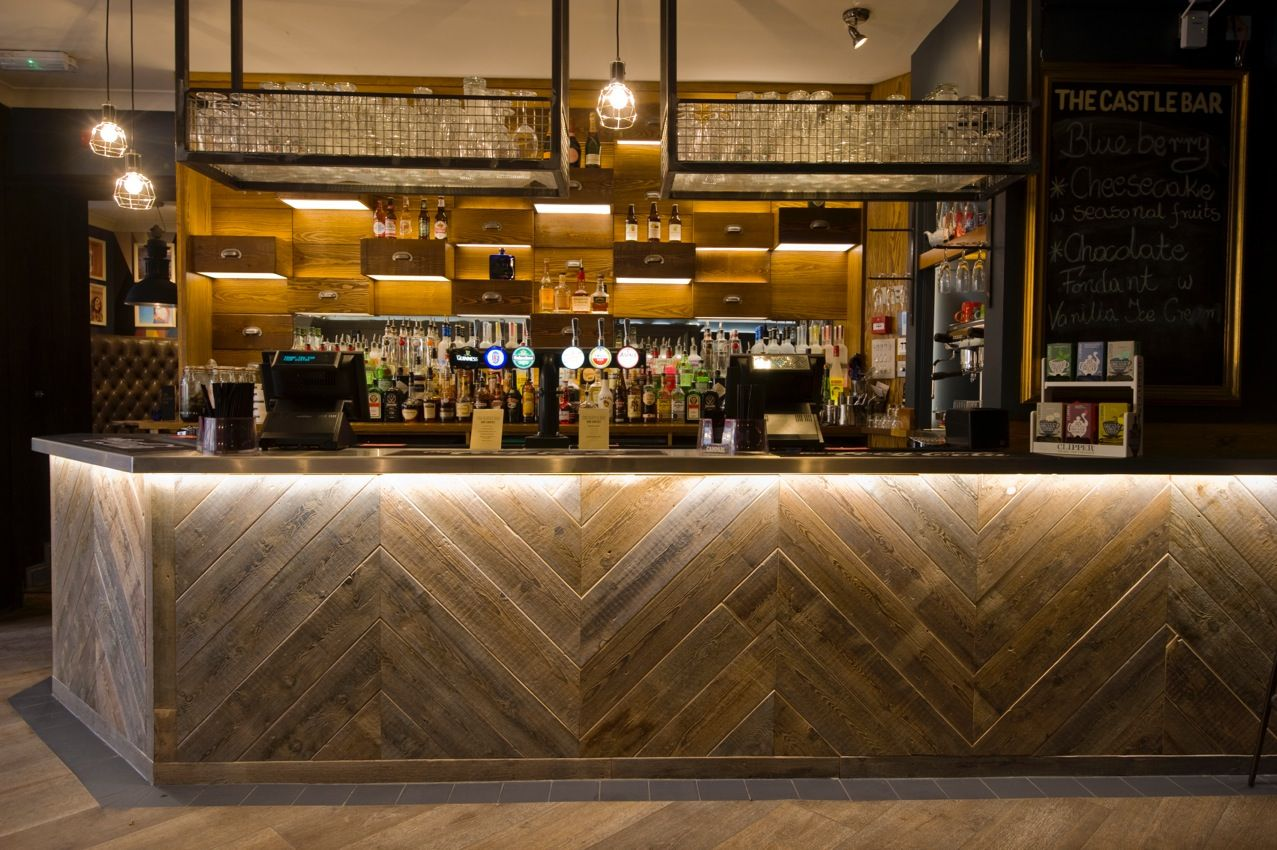 Chevron Bar Front Bar Fronts Bar Design Pub Decor