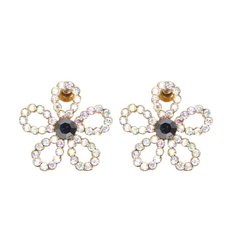 35 00 Best Wedding Costume Fashion Diamond Plum Stud Earrings Free Shipping