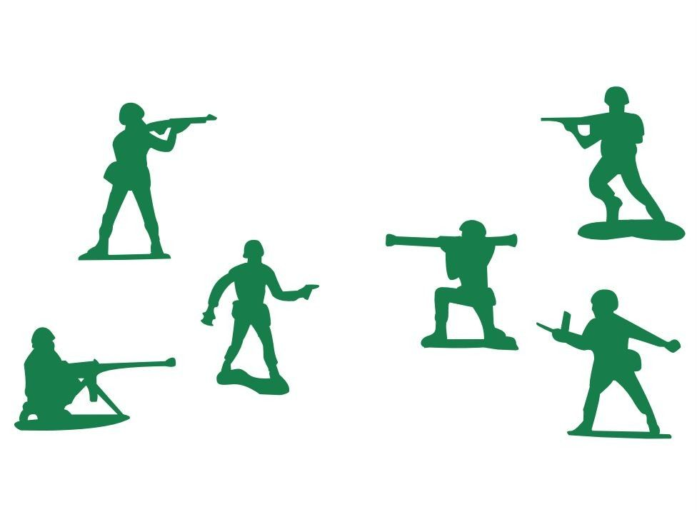12+ Toy soldier silhouette clipart info