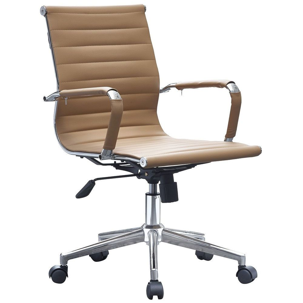 upholstered office chair with adjustable arms